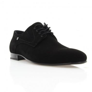 Купить Туфли мужские черные, велюр (1835-18 чн. Вл) Roma style по лучшим ценам