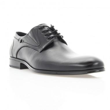 Купити Туфлі чоловічі чорні, шкіра (1835 чн. Шк) Roma style за найкращими цінами