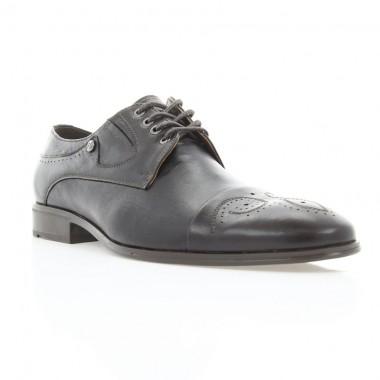 Купити Туфлі чоловічі коричневі, шкіра (1836 кор. Шк) Roma style за найкращими цінами