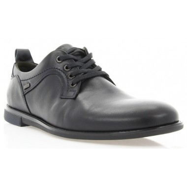 Туфли мужские черные, кожа (1843 чн. Шк) Roma style