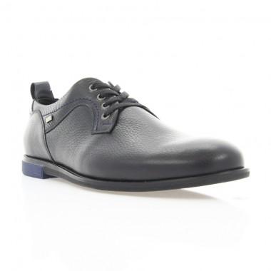 Купити Туфлі чоловічі чорні, шкіра (1843 чн. Фл) Roma style за найкращими цінами