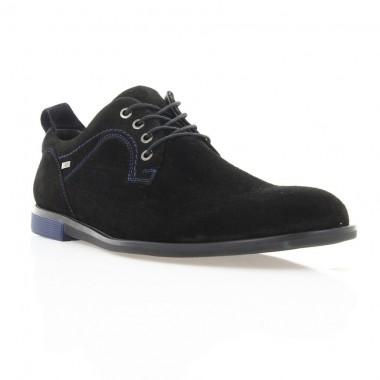 Купити Туфлі чоловічі чорні, замш (1843 чн. Зш) Roma style за найкращими цінами
