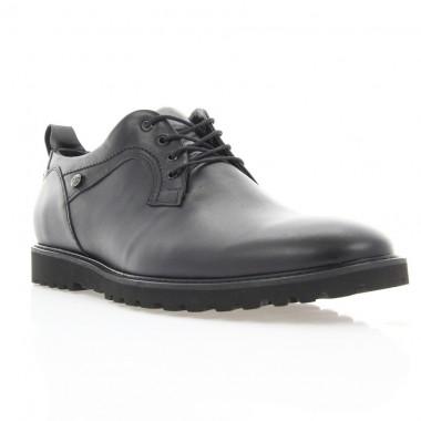 Купить Туфли мужские черные, кожа (1843_ЕВА чн. Шк) Roma style по лучшим ценам