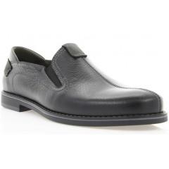 Туфлі чоловічі чорні, шкіра (1852 чн. Фл) Roma style