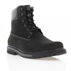 Ботинки мужские черные, нубук (1860 чн. Нб (шерсть)) Roma style