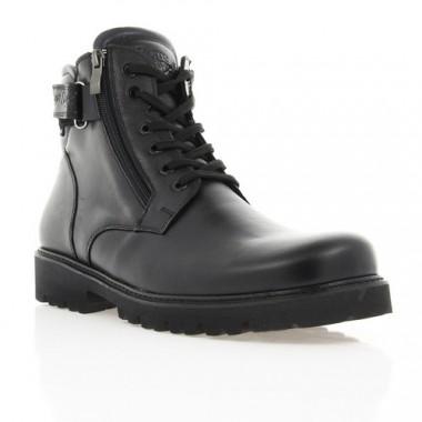 Купить Ботинки мужские черные, кожа (1872_ЕВА чн. Шк (шерсть)) Roma style по лучшим ценам