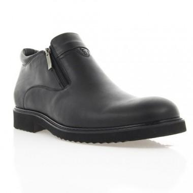 Купить Ботинки мужские черные, кожа (1889_ЕВА чн. Шк (байка)) Roma style по лучшим ценам