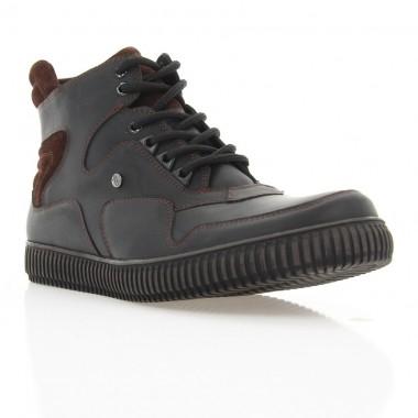 Купить Ботинки мужские черные, кожа (1894 чн. Шк (шерсть)) Roma style по лучшим ценам