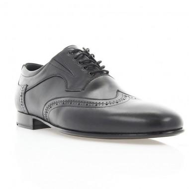 Туфлі чоловічі чорні, шкіра (1904 чн. Шк) Roma style