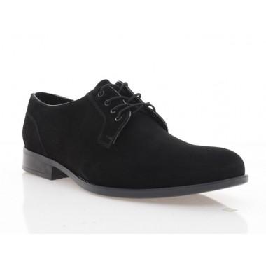 Туфлі чоловічі чорні, замш (1910-19 чн. Зш) Roma style