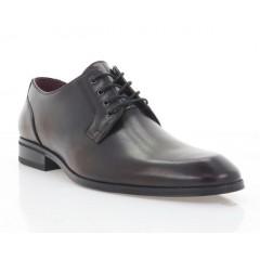 Туфли мужские бордовые, кожа (1910-20 борд. Шк) Roma style
