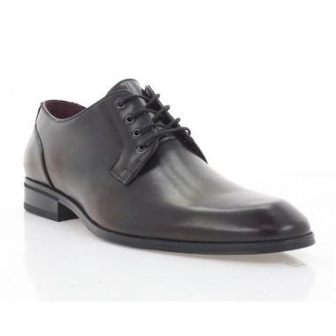 Купить Туфли мужские бордовые, кожа (1910-20 борд. Шк) Roma style по лучшим ценам