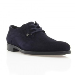 Туфлі чоловічі сині, замш (1910 сн. Зш) Roma style