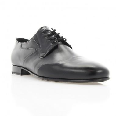Купити Туфлі чоловічі чорні, шкіра (1911 чн. Шк) Roma style за найкращими цінами