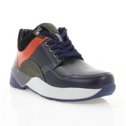 c999af9c9a8ab2 Купити Кросівки підліткові сині/сірі/червоні, шкіра (1916 П сн. Шк (байка))  Roma style за найкращими цінами
