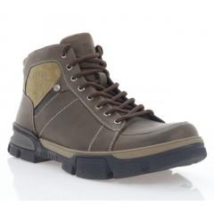 Ботинки мужские коричневые, кожа (1917-20 кор. Шк (шер)) Roma style