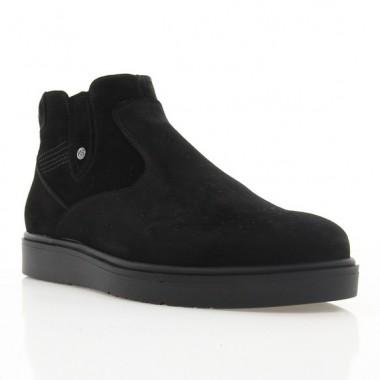 Купить Ботинки мужские черные, замша (1919 чн. Зш (шерсть)) Roma style по лучшим ценам