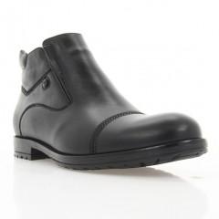 Ботинки мужские черные, кожа (1920 чн. Шк (шерсть)) Roma style