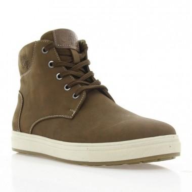 Ботинки подростковые коричневые, нубук (1923 П кор. Нб (шер)) Roma style