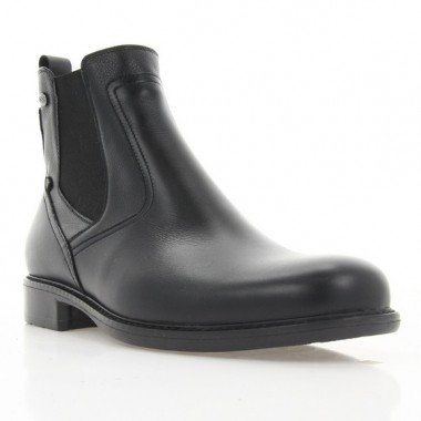 Купить Ботинки мужские черные, кожа (1928 чн. Шк (шерсть)) Roma style по лучшим ценам