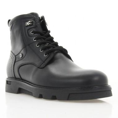 Купить Ботинки мужские черные, кожа (1931 чн. Шк (шерсть)) Roma style по лучшим ценам