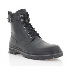 Ботинки мужские черные, кожа (1933-21 чн. Крейз (шер)) Roma style