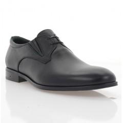 Туфли мужские черные, кожа (1955 чн. Шк) Roma style