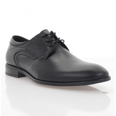 Туфли мужские черные, кожа (1956 чн. Шк) Roma style
