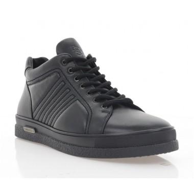 Купить Ботинки мужские черные, кожа (1862-20 чн. Шк (шер)) Roma style по лучшим ценам