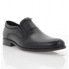 Туфли мужские черные, кожа (1973 чн. Шк) Roma style