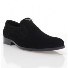 Туфлі чоловічі чорні, велюр (1973 чн. Вл) Roma style