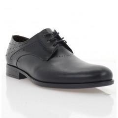 Туфли мужские черные, кожа (1974 чн. Шк) Roma style