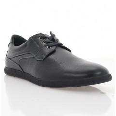 Туфлі чоловічі чорні, шкіра (1976 чн. Фл) Roma style