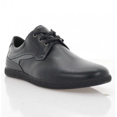 Купити Туфлі чоловічі чорні, шкіра (1976 чн. Шк) Roma style за найкращими цінами