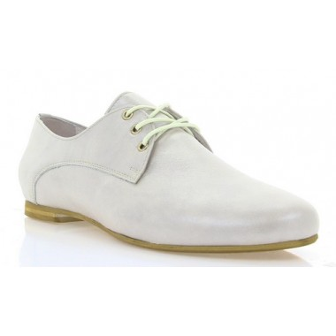 Купить Туфли женские бежевые, кожа (2196 бж.перл. Шк) Roma style по лучшим ценам