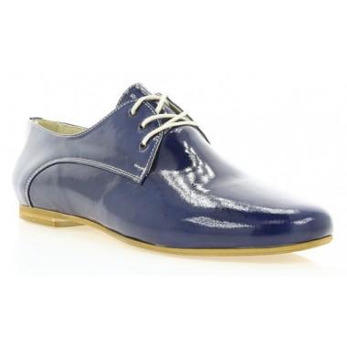 Купити Туфлі жіночі сині, лакована шкіра (2196 сн. Лк) Roma style за найкращими цінами