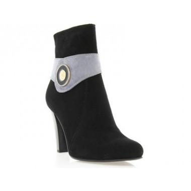 Купить Ботинки женские черные, велюр ( 2401 чн. Вл) Romastyle по лучшим ценам