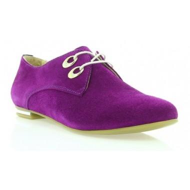 Купити Туфлі жіночі фіолетові, замш (2424 фіол. Зш) Romastyle за найкращими цінами