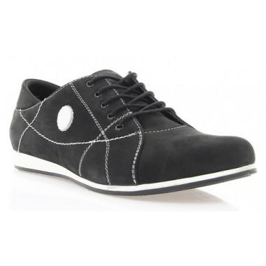 Кросівки жіночі чорні, нубук (2427 чн. Нб) Romastyle