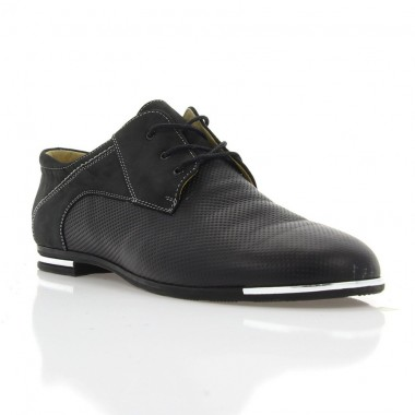 Купить Туфли женские черные , кожа ( 2430 чн. Шк ) Romastyle по лучшим ценам