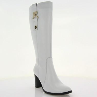 Купити Чоботи жіночі білі 2abbdecf462d5