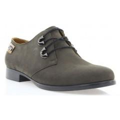 Туфли женские коричневые, нубук ( 2605 кор. Нб ) Romastyle