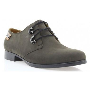 Туфлі жіночі коричневі, нубук (2605 кор. Нб) Romastyle