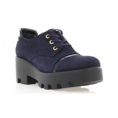 Купить Туфли женские синие, замша (2712 т.сн. Зш) Roma style по лучшим ценам