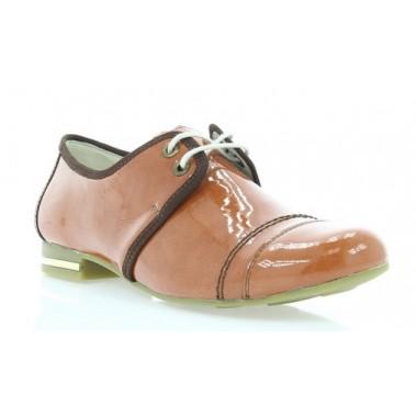 Купить Туфли женские рыжие , лакированная кожа ( 2726 риж . Лак ) Romastyle по лучшим ценам