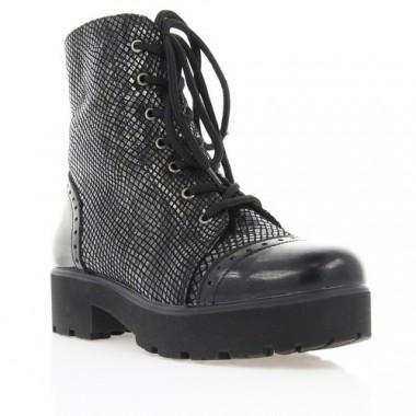Купить Ботинки женские черные, лакированная кожа (2728 чн. Лк (шерсть)) Romastyle по лучшим ценам