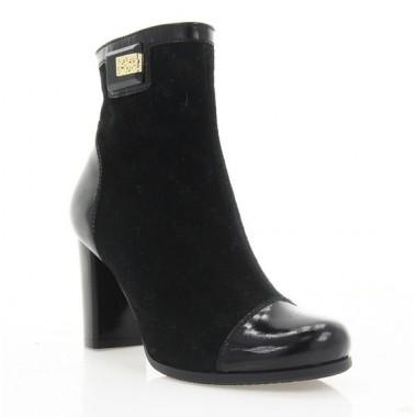 Купити Черевики жіночі чорні, велюр (2730 чн. Вл (байка)) Romastyle за найкращими цінами