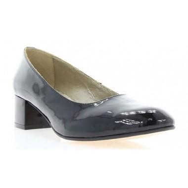 Туфли женские черные, лакированная кожа (2766 чн. Лк) Roma style