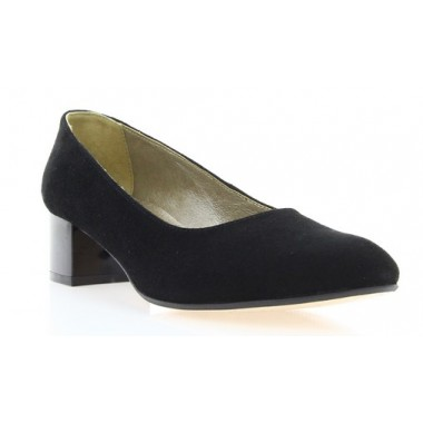 Купити Туфлі жіночі чорні, велюр (2766 чн. Вл) Roma style за найкращими цінами