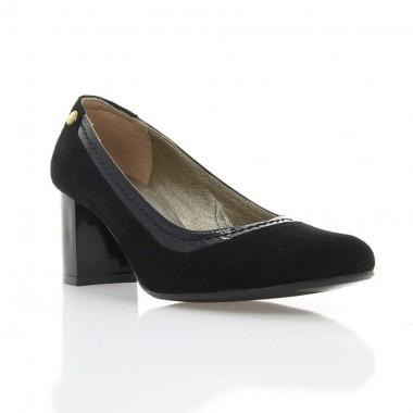Купить Туфли женские черные, велюр (2778 чн. Вл) Roma style по лучшим ценам